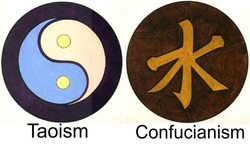 taoism and confucianism achieving harmony in and with the world Circumstances to achieve peace and harmony community as taoism, buddhism, and confucianism the world around them a taoist experience.